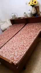 Продам кровать б/у с матрасом в хорошем состоянии. Самовывоз. Сов р-н.