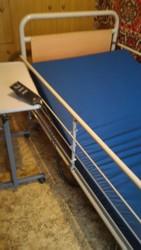 Кровать для лежачего больного с электроприводом.